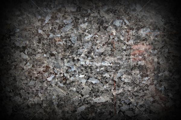 Mármore textura real cinza preto construção Foto stock © taviphoto