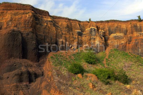 abandoned quarry Stock photo © taviphoto