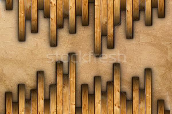 installing floor wooden tiles Stock photo © taviphoto