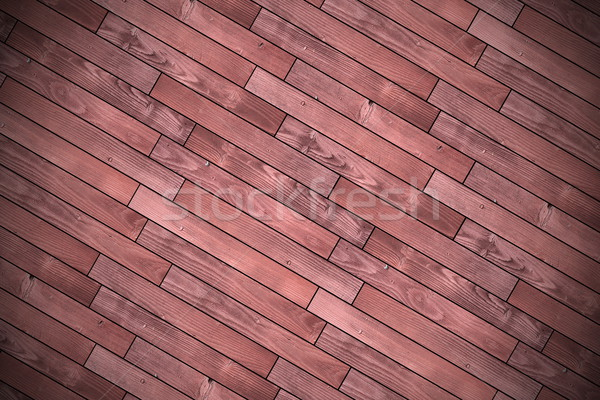textured wood tiles mounted for floor finishing Stock photo © taviphoto