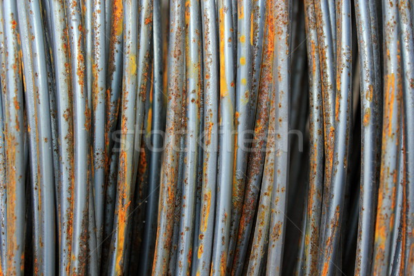 closeup of metal wires Stock photo © taviphoto