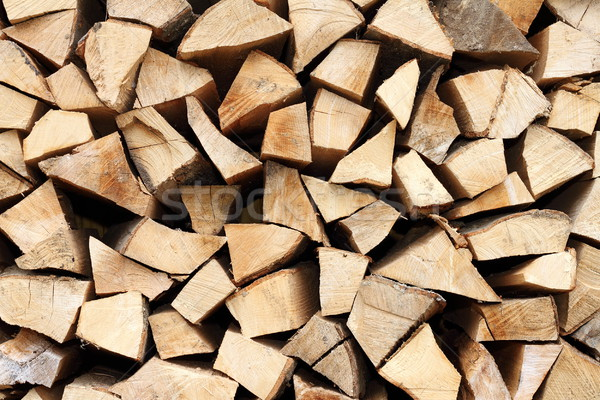 Stockfoto: Brand · hout · gehakt · abstract