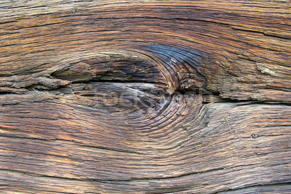 interesting knot on oak wood  Stock photo © taviphoto