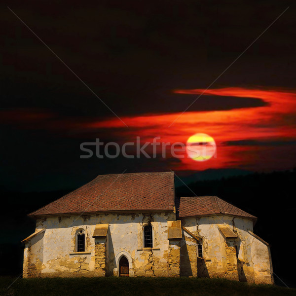 haunted old church Stock photo © taviphoto