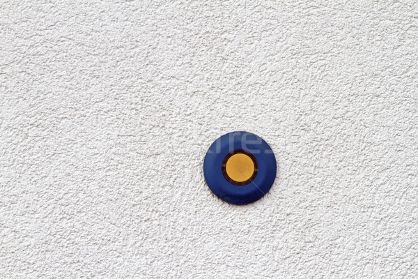 blue and yellow button Stock photo © taviphoto