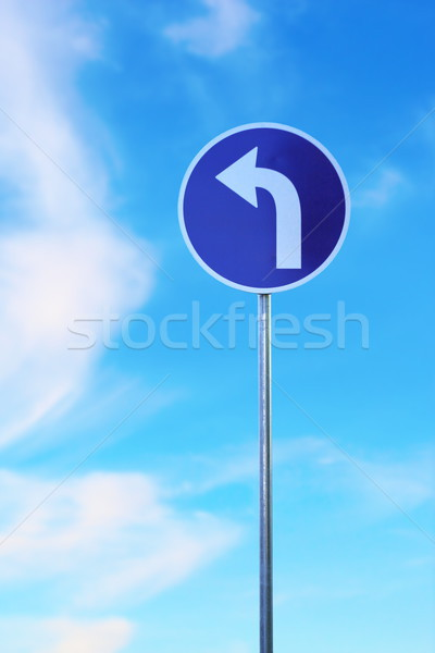 road sign Stock photo © taviphoto