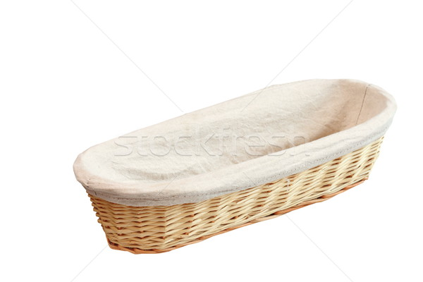 wood basket for bread Stock photo © taviphoto