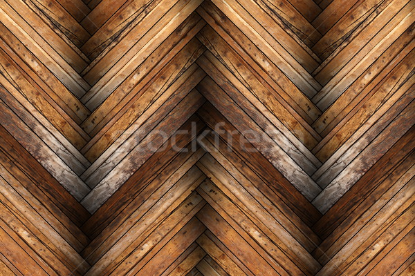 mahogany tiles on wooden floor texture Stock photo © taviphoto