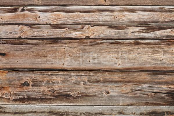 Texture patiné épinette prêt bois Photo stock © taviphoto
