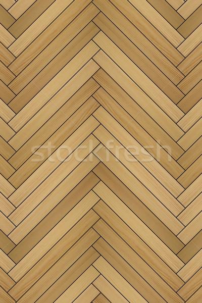 detail of laminated floor Stock photo © taviphoto
