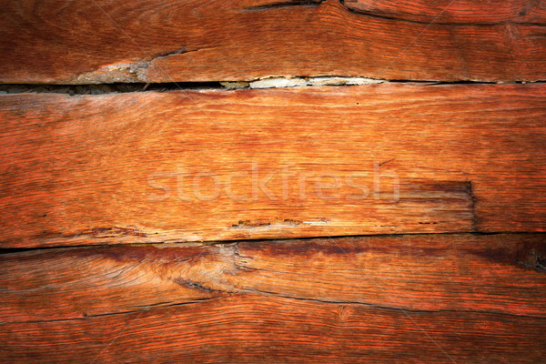 detail of oak wood vintage wall Stock photo © taviphoto