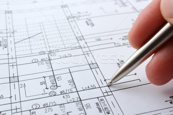 house planning Stock photo © taviphoto