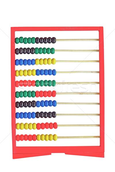 abacus isolated on white background Stock photo © taviphoto