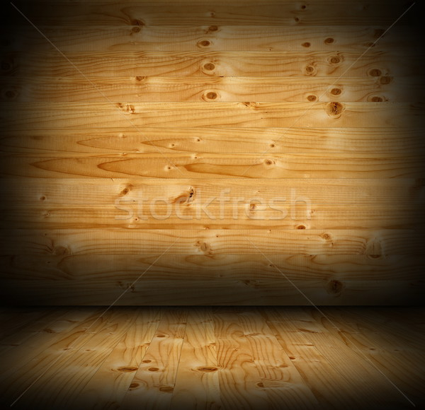 old wood interior background Stock photo © taviphoto