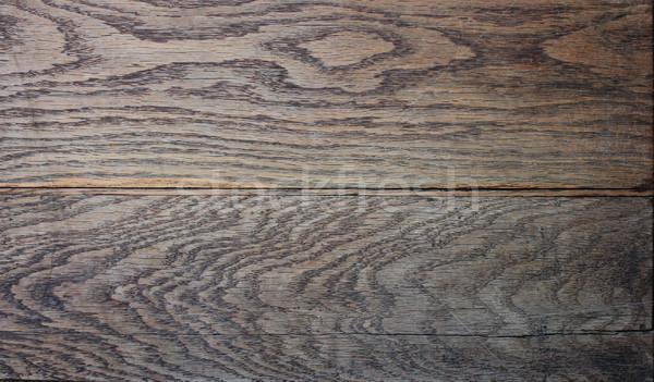 beautiful textured oak plank Stock photo © taviphoto