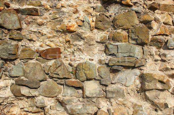 Antica muro di pietra texture architettonico design costruzione Foto d'archivio © taviphoto