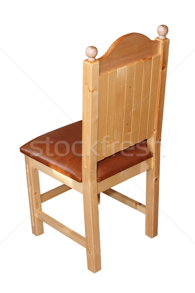 isolated wood chair Stock photo © taviphoto