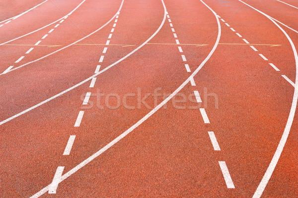 detail of sport track Stock photo © taviphoto