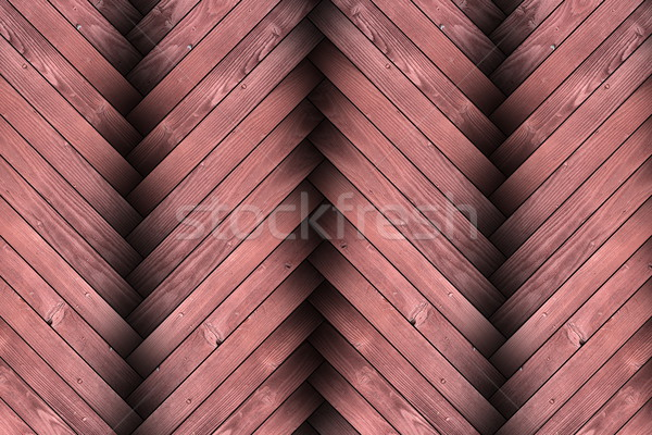 closeup of textured wood parquet Stock photo © taviphoto