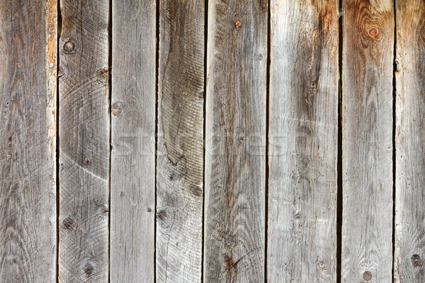 old damaged spruce planks Stock photo © taviphoto