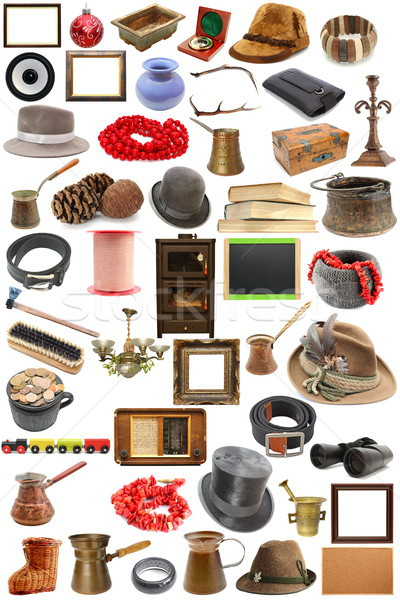 Stock photo: collection of vintage objects