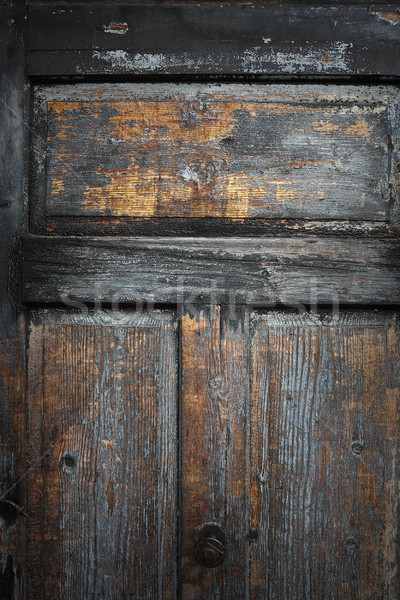 красивой выветрившийся доска старые Сток-фото © taviphoto