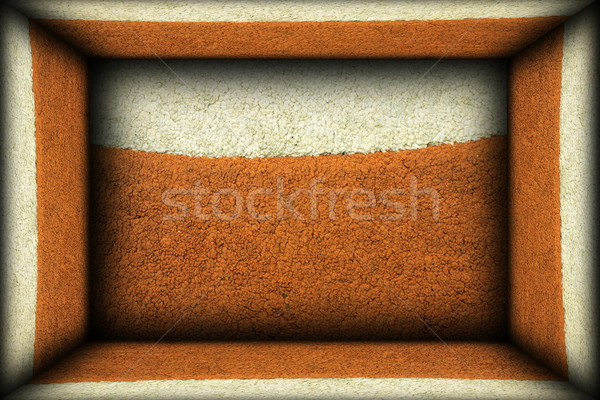 Interior interessante fundo acabado velho tapete Foto stock © taviphoto