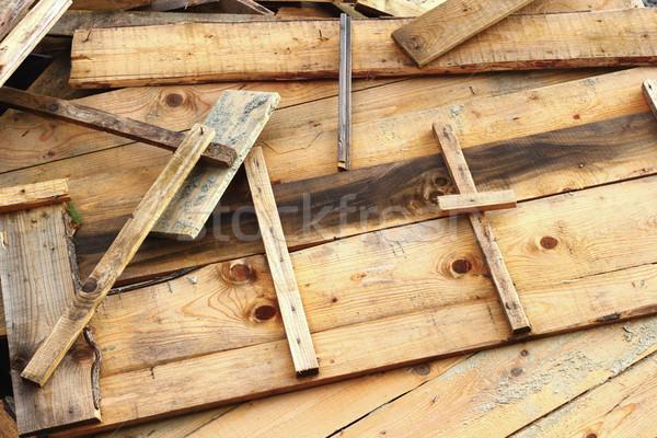 wooden formwork Stock photo © taviphoto