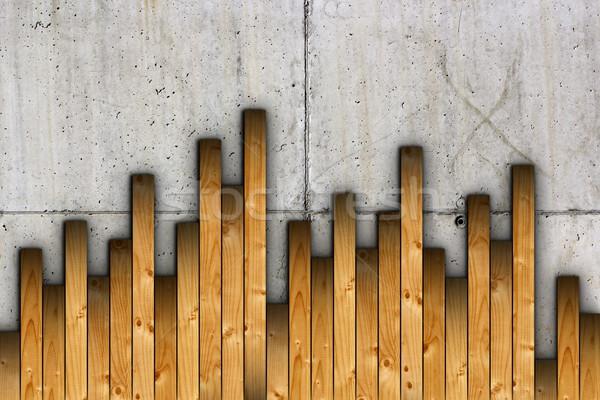 Instalação concreto superfície piso Foto stock © taviphoto
