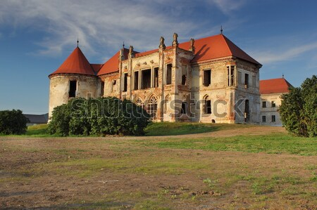 banffy castle at bontida Stock photo © taviphoto