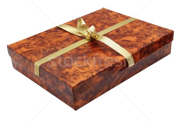 carton present box Stock photo © taviphoto
