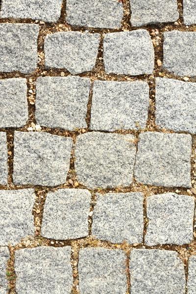 Textura piedra pavimento real urbanas calle Foto stock © taviphoto