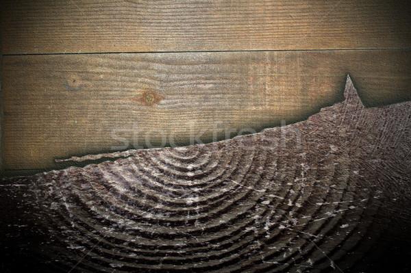木製 テクスチャ ひびの入った スプルース 木材 ストックフォト © taviphoto