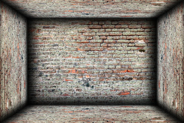 abstract interior brick finishing backdrop Stock photo © taviphoto
