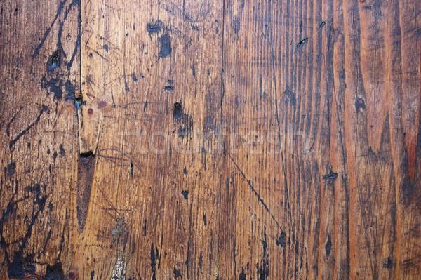 érdekes textúra régi fa felület építészeti terv Stock fotó © taviphoto