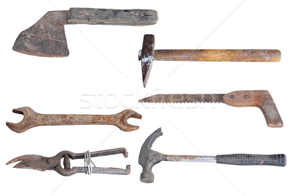 collection of old tools Stock photo © taviphoto