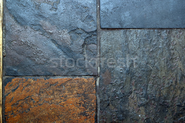 tiles of grungy stone Stock photo © taviphoto