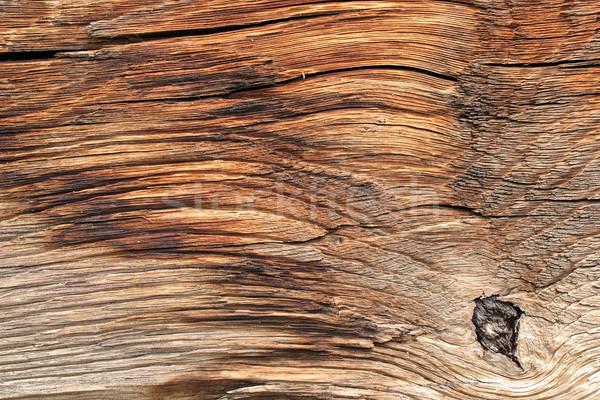 Superfície velho carvalho viga pormenor Foto stock © taviphoto