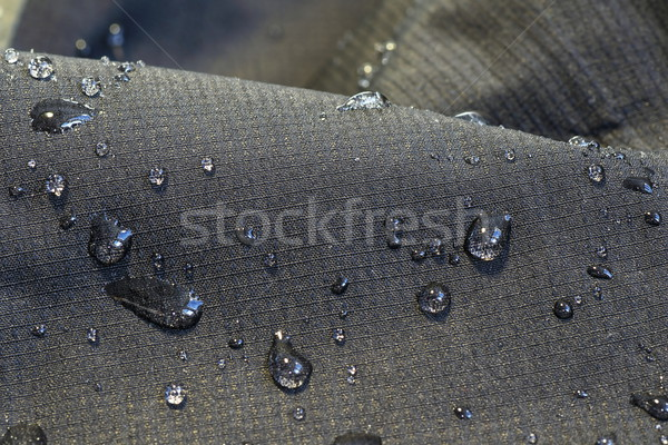 detail of fabric water repellent Stock photo © taviphoto