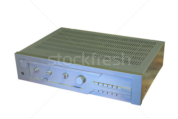 isolated old music amplifier Stock photo © taviphoto