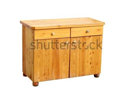 furniture over white Stock photo © taviphoto