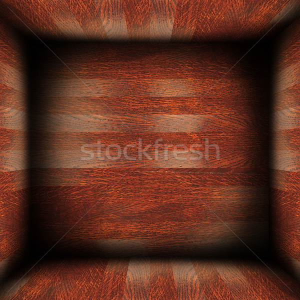 Abstract hout afgewerkt interieur bouwkundig Stockfoto © taviphoto