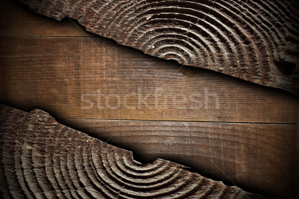 cracked wood texture of a stump Stock photo © taviphoto