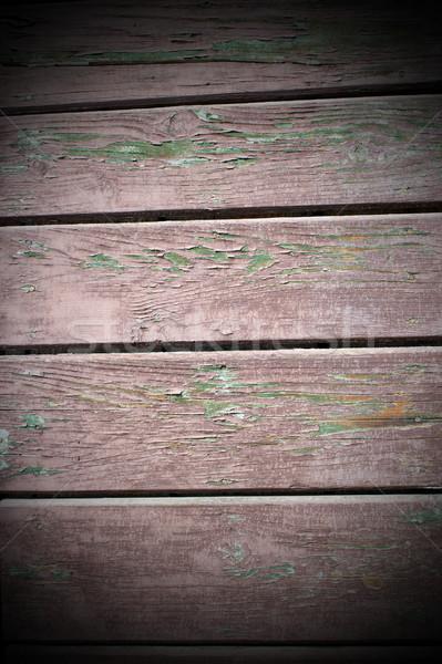 weathered reddish wooden planks texture Stock photo © taviphoto