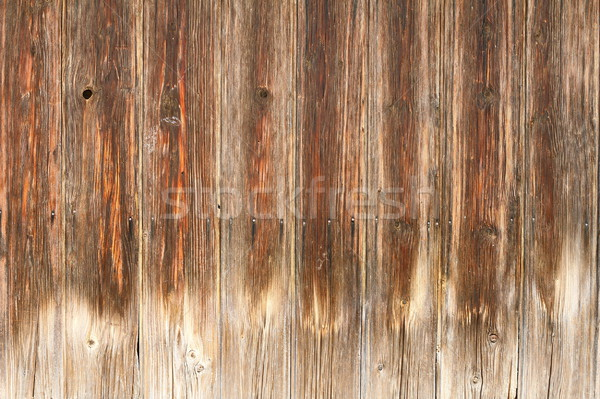 érdekes viharvert palánk textúra fából készült fa Stock fotó © taviphoto