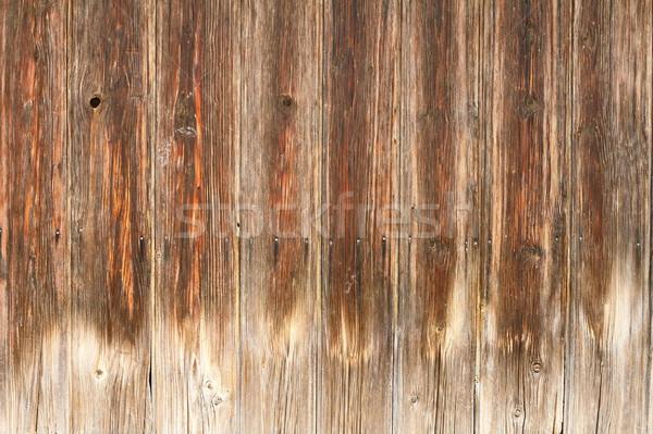 Interessant verweerde plank textuur houten hout Stockfoto © taviphoto