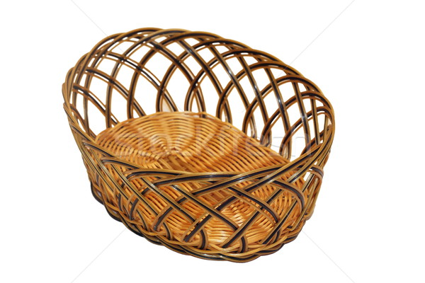 isolated wattle basket   Stock photo © taviphoto