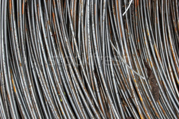texture of metal wire Stock photo © taviphoto