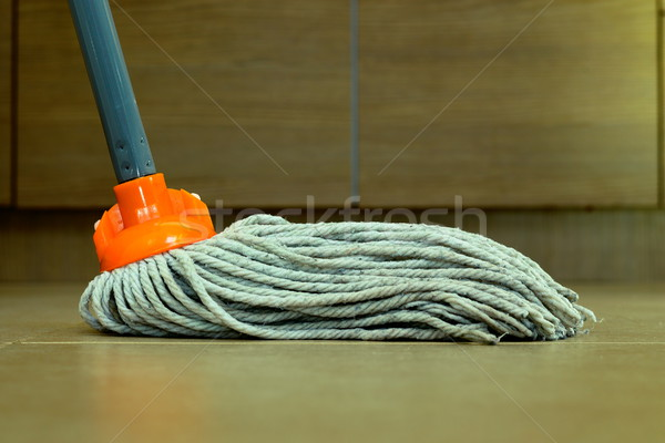 cleaning the floor Stock photo © taviphoto