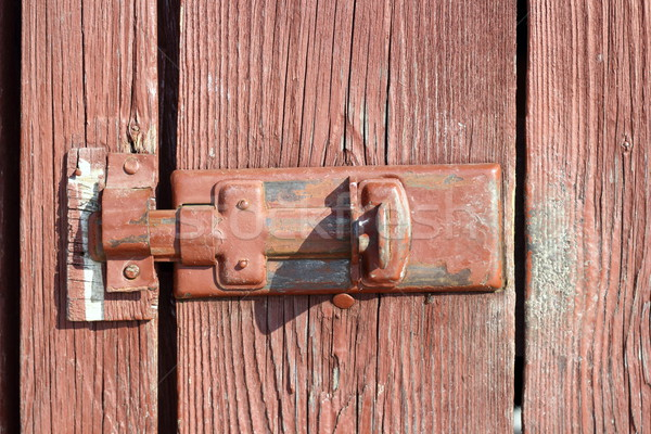 old locking system Stock photo © taviphoto